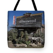The Greenwood Dancehall And Saloon Bluff Dale Texas Tote Bag