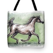 The Grey Arabian Horse 8 Tote Bag