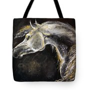 The Grey Arabian Horse 9 Tote Bag
