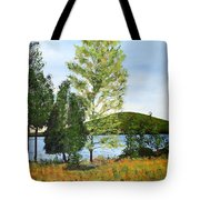The Grey Camp Beech Hill Pond Tote Bag