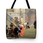 The Grey Cardinal Tote Bag by Jean Leon Gerome