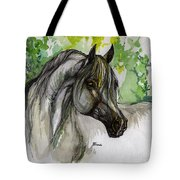 The Grey Horse Drawing Tote Bag