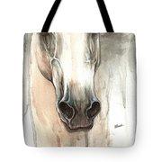 The Grey Horse Portrait 2014 02 10 Tote Bag