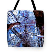 The Grid 2 Tote Bag
