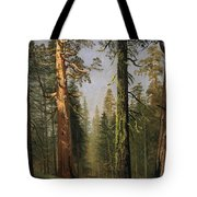 The Grizzly Giant Sequoia Mariposa Grove California Tote Bag