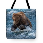 The Grizzly Plunge Tote Bag