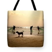 The Guardian Dog Tote Bag