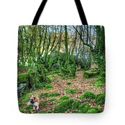 The Guardian Of The Dead Dragon Tote Bag