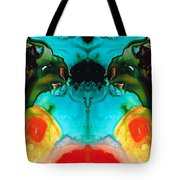 The Guardians - Visionary Art By Sharon Cummings Tote Bag by Sharon Cummings
