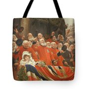 The Guards Cheer, 1898 Tote Bag