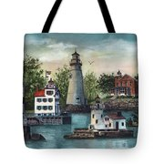 The Guiding Lights Of Ohio Tote Bag
