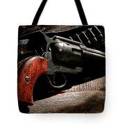 The Gun That Won The West Tote Bag