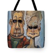 The Gundersons Take A Cruise Tote Bag
