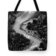 The Gunnison Bw Tote Bag