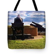 The Guns Of Fort Mc Henry Tote Bag