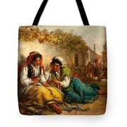 The Gypsies Tote Bag by Thomas Kent Pelham