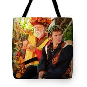 The Gypsy And The Minstrel Tote Bag