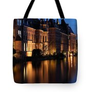 The Hague By Night Tote Bag