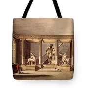 The Hall At The Royal Academy, Somerset Tote Bag