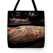 The Hall Of Ancient Egypt Mummy Room Tote Bag