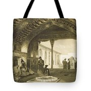 The Hall Of Mirrors In The Palace Tote Bag by Grigori Grigorevich Gagarin