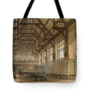 The Hall Of Trinity College, Cambridge Tote Bag