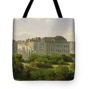 The Hamburg Kunsthalle And The Wallanlagen At The Glockengiesserwal Tote Bag