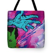The Hand Of Frankenstein Tote Bag