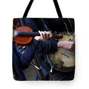 The Hands Of Jazz Tote Bag