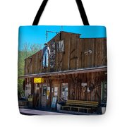 The Hanging - Apache Country Tote Bag