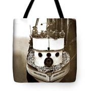 The Happy Crew Of The Fishing Boat  Geraldine- Ann Monterey California 1939 Tote Bag