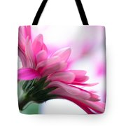 The Happy Flower Pink Daisy Tote Bag