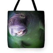 The Happy Manatee Tote Bag