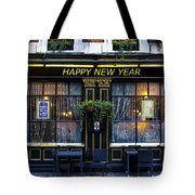 The Happy New Year Pub Tote Bag