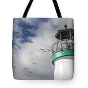 The Harbor Lighthouse Tote Bag
