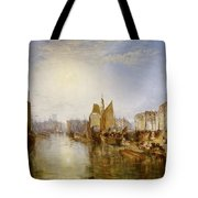 The Harbor Of Dieppe Tote Bag
