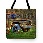 The Hard Headed Ford Work Horses. Tote Bag