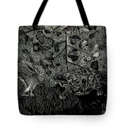 The Hare And The Tortoise Tote Bag