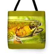 The Hare And The Trout Tote Bag