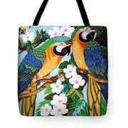 The Harlerquin Hand Embroidery Tote Bag