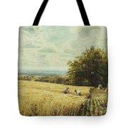 The Harvesters Tote Bag by Edmund George Warren