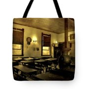 The Haunted Classroom Tote Bag