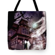The Haunting Of Blackthorne Manor  Tote Bag
