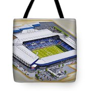 The Hawthorns - West Bromwich Albion Fc Tote Bag