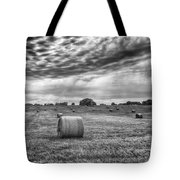 The Hay Bails Tote Bag