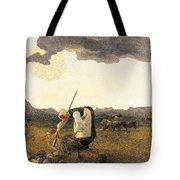 The Hay Harvest  Tote Bag