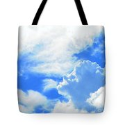 The Head In The Clouds Tote Bag