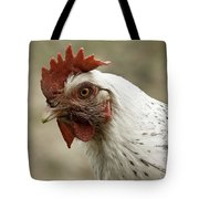 The Head Of A Rooster Tote Bag