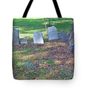 The Headstones Of Slaves Tote Bag