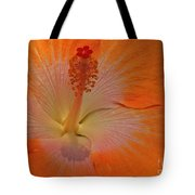 The Heart Of A Hibiscus Tote Bag